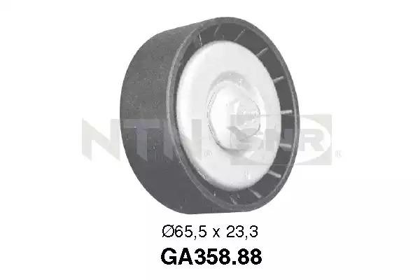 Паразитный / ведущий ролик, поликлиновой ремень SNR GA35888