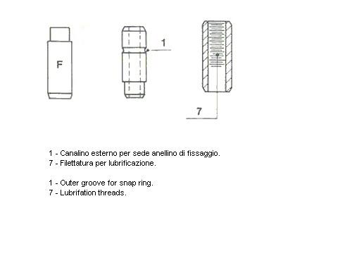 Направляющая втулка клапана METELLI 011369