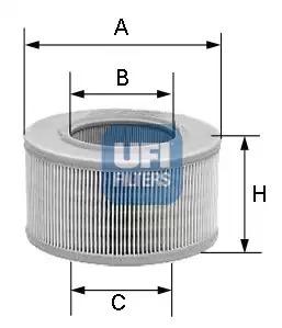 Воздушный фильтр UFI 3080700
