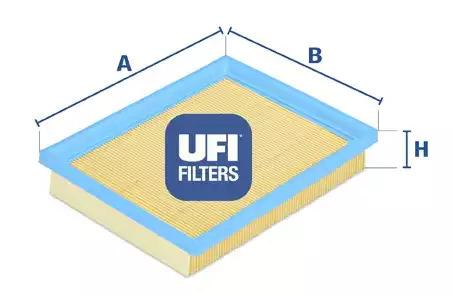 Воздушный фильтр UFI 3002700