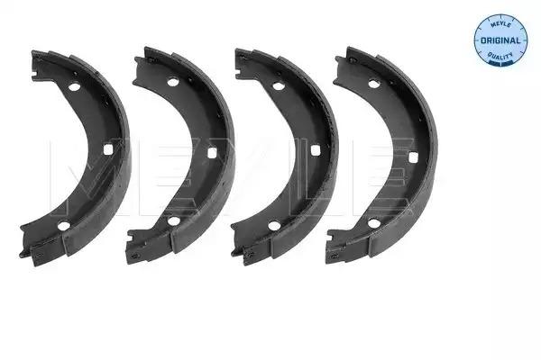 Комплект тормозных колодок, стояночная тормозная система MEYLE 3141159401