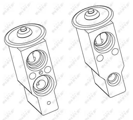 Расширительный клапан, кондиционер NRF 38379