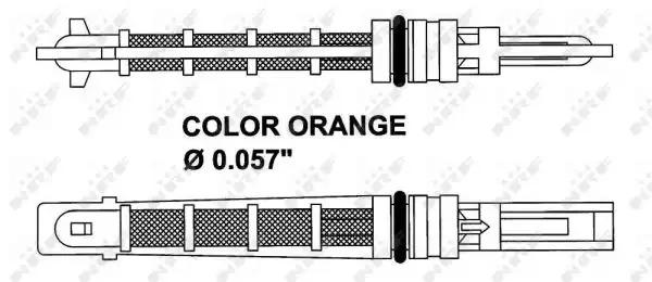 Расширительный клапан, кондиционер NRF 38449