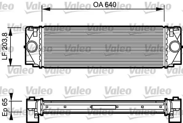 Интеркулер VALEO 817994