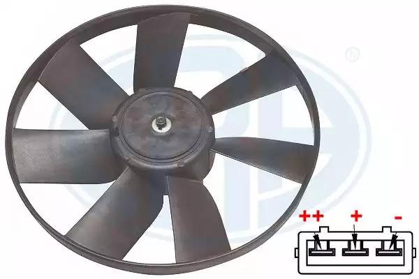 Вентилятор, охлаждение двигателя ERA 352048