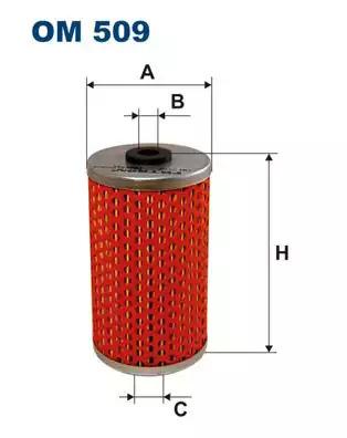 Масляный фильтр FILTRON OM509