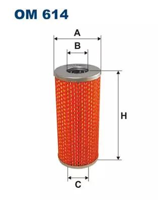 Масляный фильтр FILTRON OM614