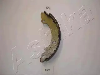 Комплект тормозных колодок ASHIKA 5505596