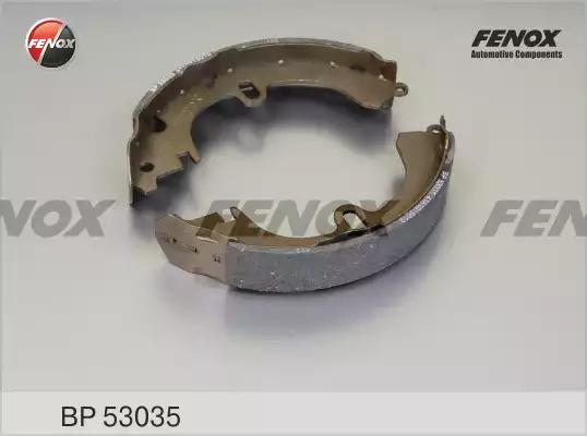 Комплект тормозных колодок FENOX BP53035