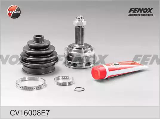 Шарнирный комплект, приводной вал FENOX CV16008E7