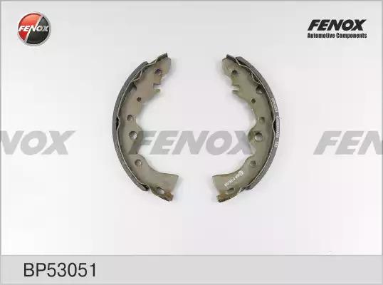 Комплект тормозных колодок FENOX BP53051