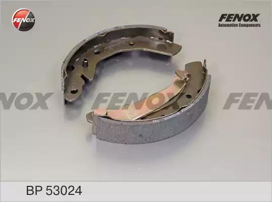 Комплект тормозных колодок FENOX BP53024