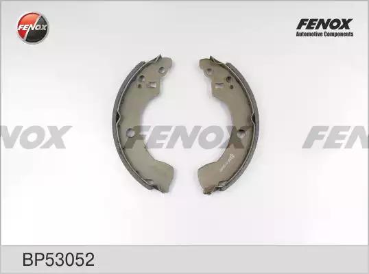 Комплект тормозных колодок FENOX BP53052