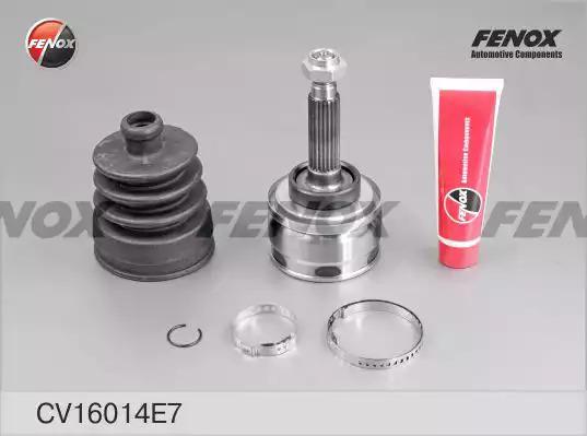 Шарнирный комплект, приводной вал FENOX CV16014E7
