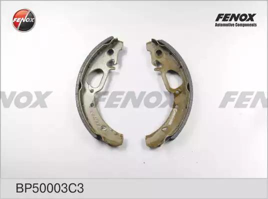 Комплект тормозных колодок FENOX BP50003C3