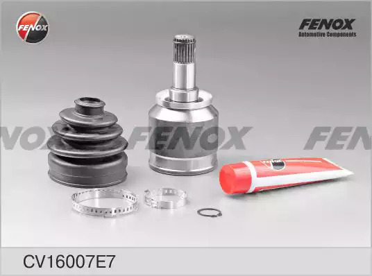 Шарнирный комплект, приводной вал FENOX CV16007E7