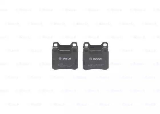 Комплект тормозных колодок, дисковый тормоз BOSCH 0986466874