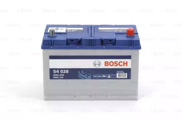 Стартерная аккумуляторная батарея BOSCH 0092S40280
