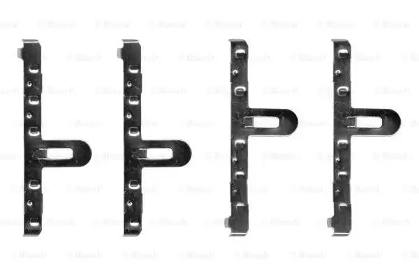 Комплектующие, колодки дискового тормоза BOSCH 1987474137