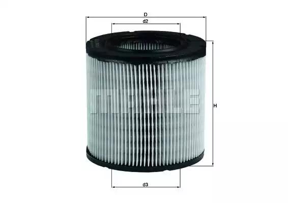 Воздушный фильтр KNECHT LX249
