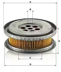 Гидрофильтр, рулевое управление MANN-FILTER H85