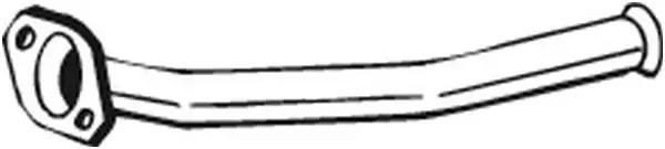Труба выхлопного газа BOSAL 741017