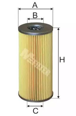 Масляный фильтр MFILTER TE17