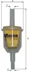Топливный фильтр MFILTER BF01