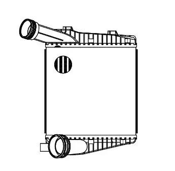 Интеркулер LUZAR LRIC1856