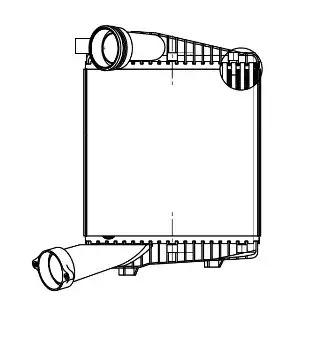 Интеркулер LUZAR LRIC1855
