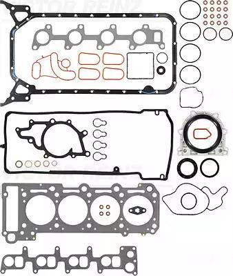 Комплект прокладок, двигатель VICTOR REINZ 013155501
